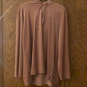 Loft velvet sweatshirt